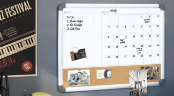The Board Dudes Dry Erase Calendars