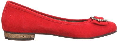Rojo Rot Bailarinas 0590452 mujer 021 para ante de 0590452 Conti Rot Andrea qwCn8f6S