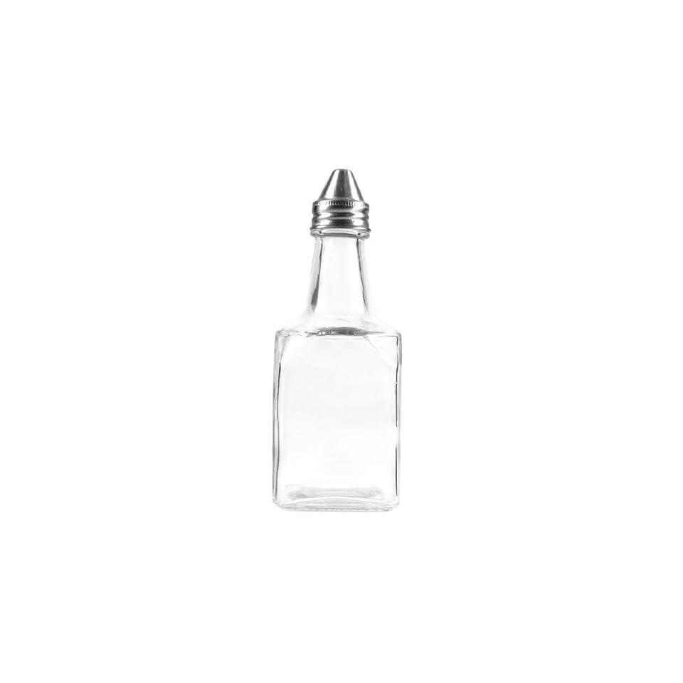 Anchor Hocking Glass Oil & Vinegar Cruet, Set of 4