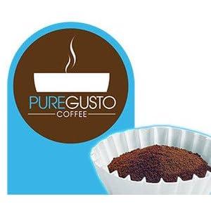 PureGusto Colombiano SUPREMO Filter Coffee 6kg caffè filtro Grind