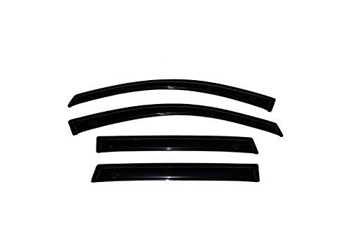 RAFTUDRIVE 4pcs Vent Shade Window Visors Only Fit 2006-2010 Dodge Charger