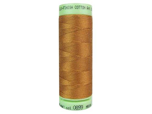 Mettler Fine Embroidery Thread - Mettler Silk-Finish Solid Cotton Thread, 220 yd/200m, Bronze