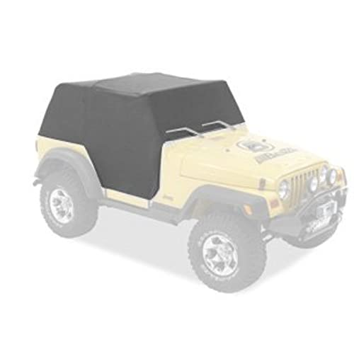 Bestop 81035 09 Charcoal All Weather Trail Cover For 1976 1991 CJ7 And Wrangler  YJ