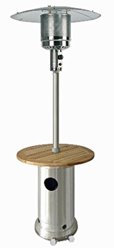 Stainless Steel Residential Patio Heater - Patio Heater in Stainless Steel - Residential Heaters