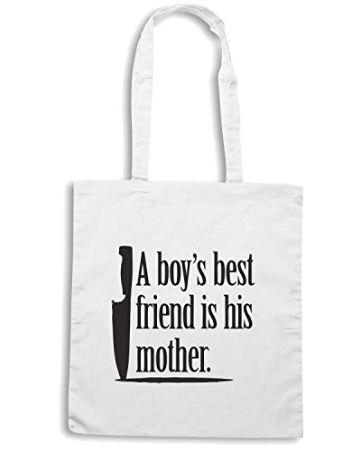 MENS FUN4300 Shopper Bianca 1 Speed BOYS Borsa Shirt 2 BEST FRIEND CU WHT 4 Ifzfqxw