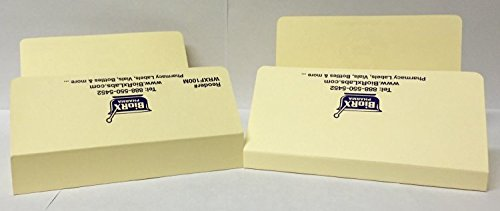 Pharmacy Rx Folder - 1 inch spine, manila color - 100 per case