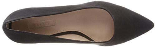 ESPRIT Women's Laurel Pump Closed Toe Heels Black XQW2CMY5x