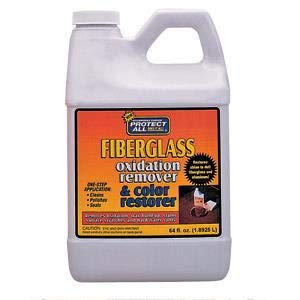 Protect All Fiberglass Oxidation Remover and Color Restorer - 64 oz 55064 (5) by Protect All