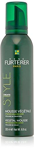 Rene Furterer STYLE Vegetal Mousse, Long Lasting Strong Hold, Natural Finish, 6.8 oz. (Rene Furterer Modeling Paste)