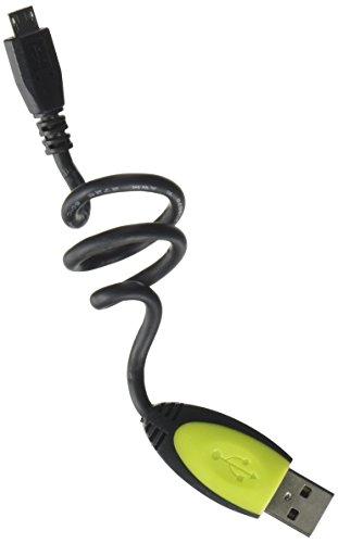 Ziotek zt13110161-feet flexicord USB a Macho a Micro USB de 5pines, color negro