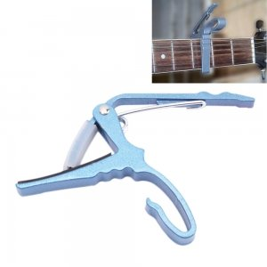 Cambio rápido guitarra Capo para Guitarra Eléctrica o acústica, color azul: Amazon.es: Electrónica