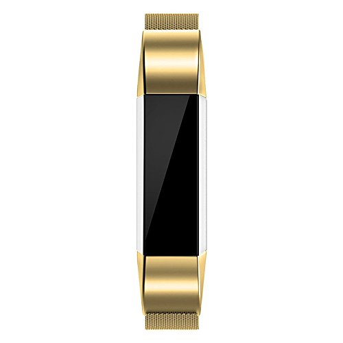 Haihuic Fitbit Alta Bands Stainless Steel Replacement Accessory Strap for Fitbit Alta Smart Fitness Watch