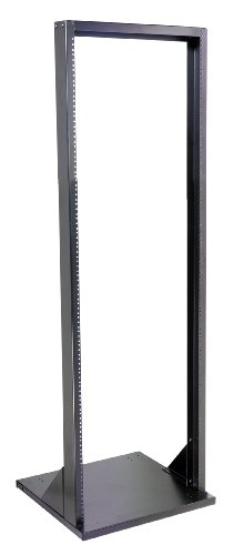 VMP ER-1 19-Inch Headend Equipment Rack (71-Inch Height, Black) by Video Mount Products