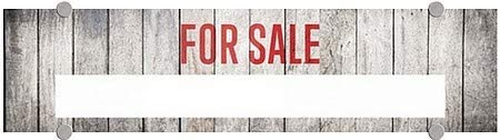 24x6 5-Pack CGSignLab for Sale Nautical Wood Premium Brushed Aluminum Sign