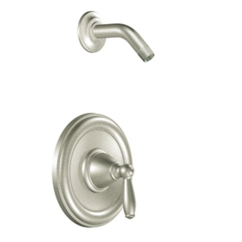 Moen T2152NHBN Brantford Posi-Temp Shower Trim Kit without Valve, Brushed Nickel