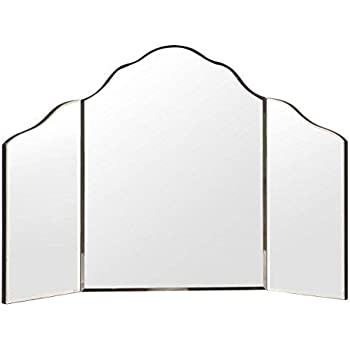 Amazon Com Hamilton Hills Trifold Vanity Mirror Solid
