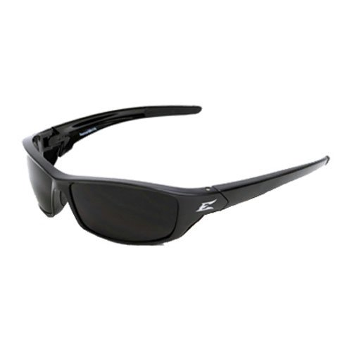 Edge Eyewear SR116 Reclus Safety Glasses, Black with Smoke Lens Edge Safety Glasses