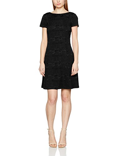 Collection Kleid ESPRIT Schwarz 001 Damen Black YaBxZqx6nd