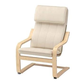 Sedia A Dondolo Poang Ikea Prezzo.Ikea Poang Poltrona Cantilever Per Bambini In Legno Di Betulla Con Rivestimento Lavabile