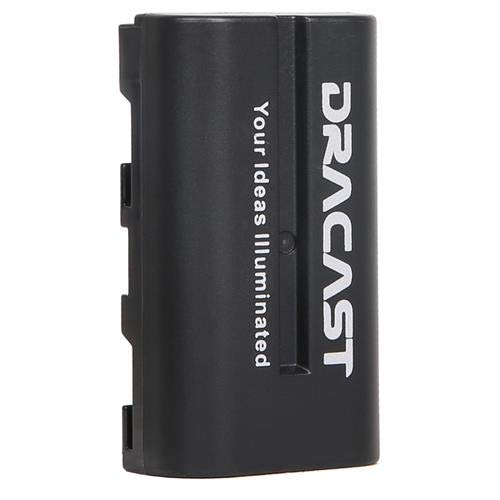 Dracast NP-F 2200mAh Lithium-Ion Battery for LED160, LED200, X1 and X2 Light Fixtures by Dracast