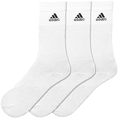 autumn shoes save off on wholesale Adidas Per Crew T 3pp Crew Socks for Unisex - White/White ...