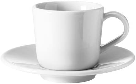 IKEA 365+ Espresso cup and saucer white 6 cl