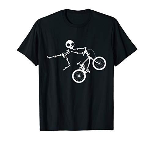 Skeleton BMX Shirt for Men and ()