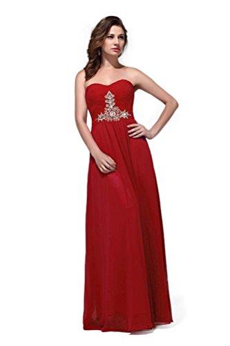 Rot Linie Hot Kleid A Damen Queen Rot ntSqSYPw