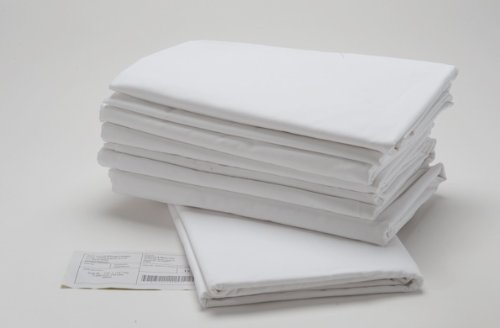 Union Hospitality 24 Standard Size Pillow Cases 20'' x 32'' T200 Thread Count Percale Hotel Linen - White (Standard) by Union Hospitality (Image #3)