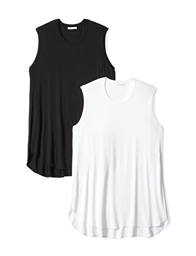 Daily Ritual Women's Plus Size Jersey Sleeveless Tunic