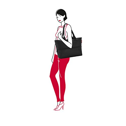 Shopping Black Reisenthel e1 Reisenthel Shopper Bag Shopper Black 63 e1 17wqRX