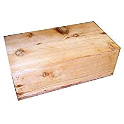 Pet Coffin Casket for Cats or Small Dogs 18 x 15 x 6.25 Inches - U Build It D.I.Y. Kit