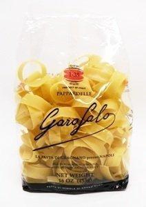 Garofalo No.1-35 Pappardelle Semolina Pasta, 16 oz (Pack of 2) Dry Italian Pasta