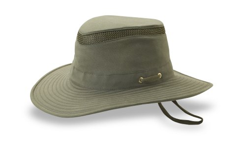 Tilley Endurables T4MO Eco-Airflo Hat,Olive,7.125