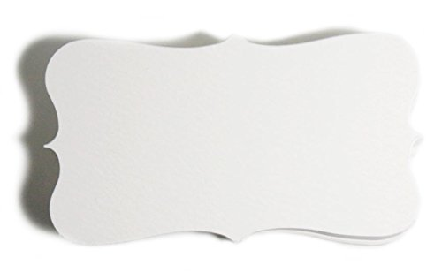 White Paper Business Cards (100) Paper W04- Blank
