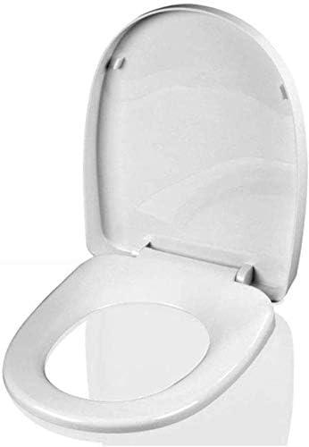 CXMWYトイレのふた 抗菌PPボードと便座が超耐性トップミュートUは大人の便座のためにトイレの蓋形状マウントスローダウン、-41.5〜43.5センチメートル* 34センチメートル