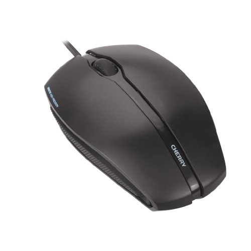 CHERRY JM-0300 Gentix Illuminated Corded Optical Mouse - USB - 3 Button - Scroll Wheel - -