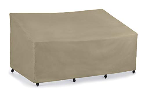 SunPatio Sofa Cover, Lightweight, Water Resistant, Helpful Air Vents, All Weather Protection, 80