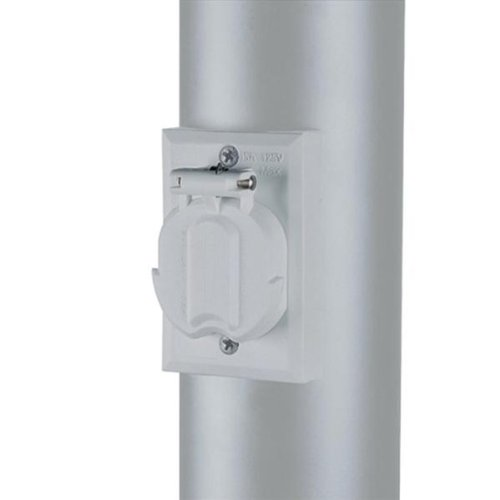 Outdoor Lamp Post Outlet - 1
