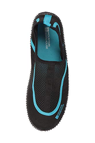 Amazon.com | Mountain Warehouse Bermuda Womens Aqua Shoes -Easy Slip On Swim Shoes | Water Shoes