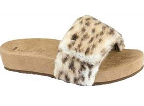 Leopard Snow Revitalign Slide Sandals Women's Breezy xpwqfPX