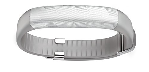 UP2 by Jawbone Activity + Sleep Tracker, Light Grey Hex (Silver), Classic Flat Strap (Classy Outfits For Men)