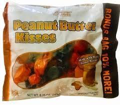 Melster's Gluten Free Peanut Butter Kisses 8.25 Oz 10% Larger Bonus Bag (3 Pack) -