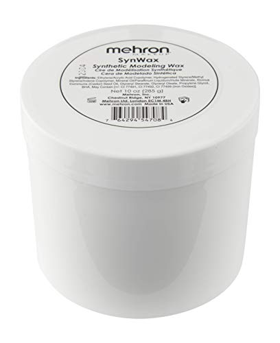 Mehron Makeup SynWax Synthetic Modeling Wax (10 oz) -