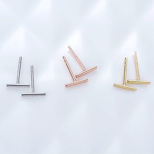 Minimalist-925-Sterling-Silver-Stud-Earrings-Bar-Earrings-Line-Earrings-Simplify-Stick-Earrings