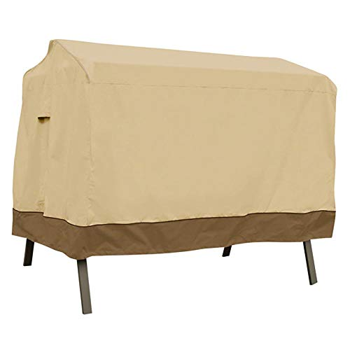 Classic Accessories Veranda 3-Seater Patio Canopy Swing Cover – Durable and Water Resistant Patio Set Cover (55-622-011501-00)