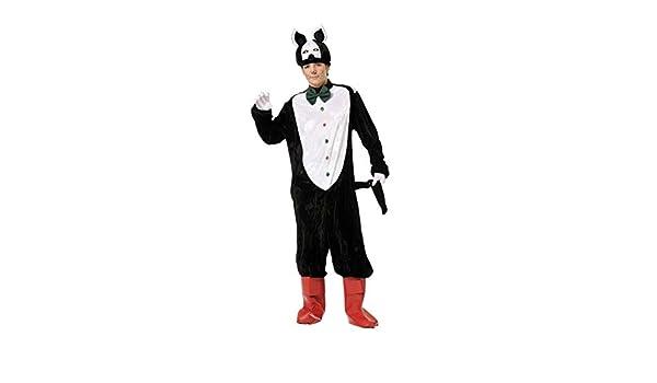 DISBACANAL Disfraz de Gato con Botas Adulto - Único, M: Amazon.es ...