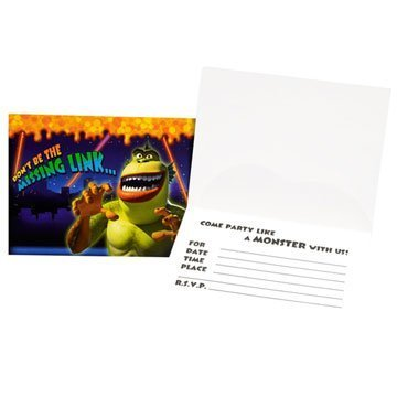 Monsters vs Aliens Invitations 8ct by Party America