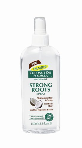 Palmer's Coconut Oil Formula with Vitamin E Strong Roots Spray, 5.1 fl. oz (Formula Spray)