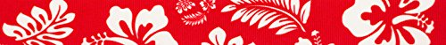 Country Brook Design 5/8 Inch Red Hawaiian Grosgrain Ribbon, 5 Yards